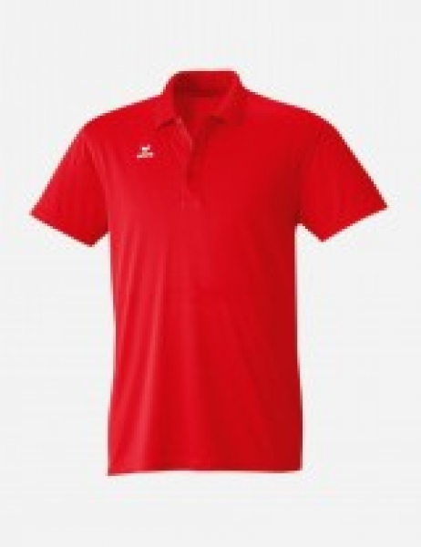 Funktions-Poloshirt, rot