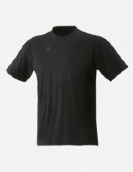 T-Shirt Teamsport, schwarz